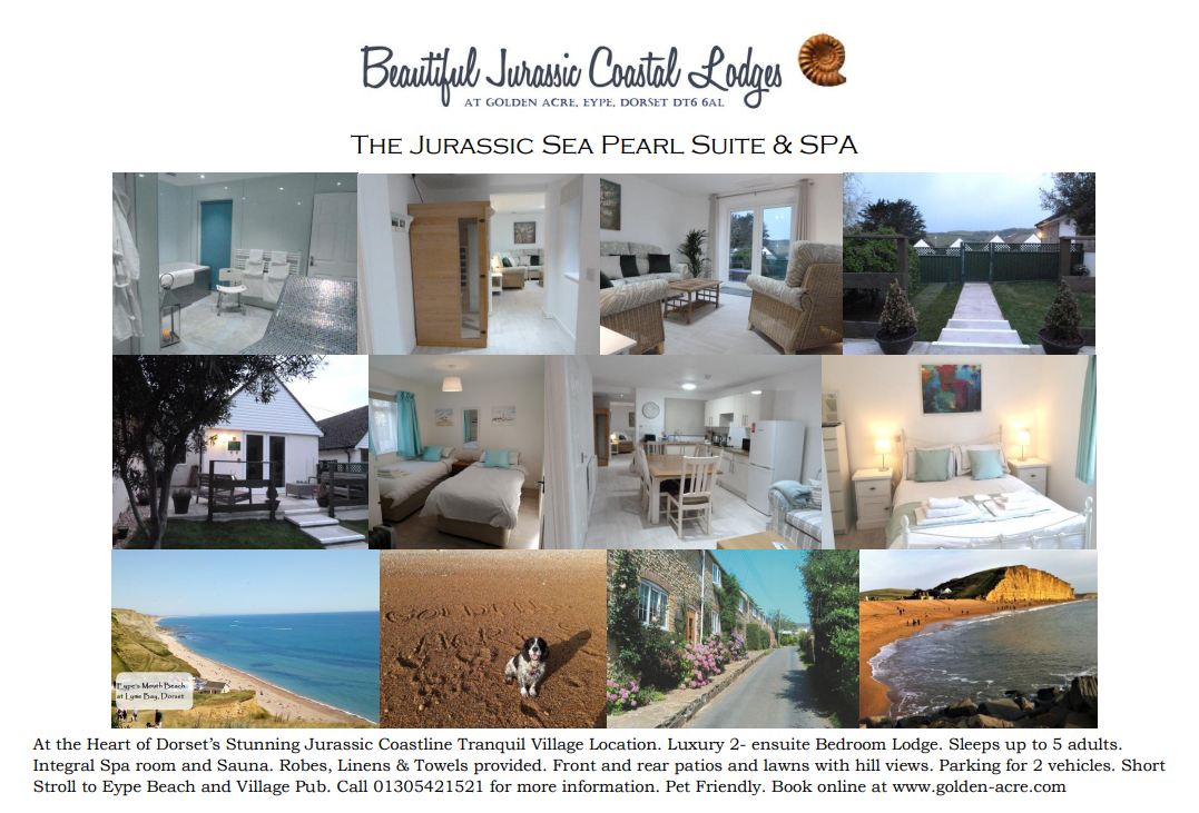 The Brand New Jurassic Sea Pearl Suite with Integral Spa Room